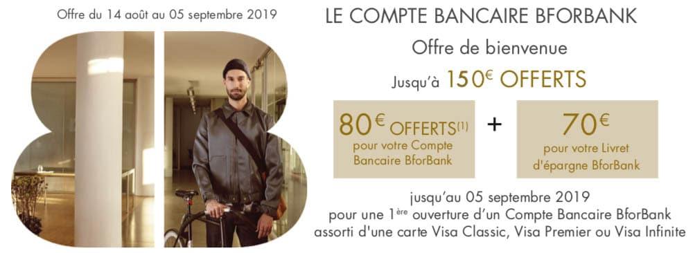 offre bforbank 150€