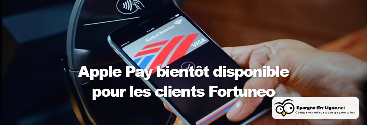 Apple Pay Fortuneo - banniere