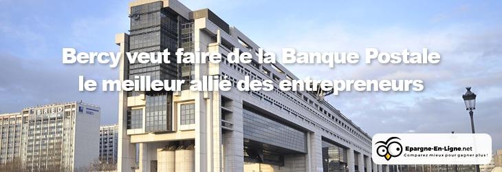 Banque Postale et Entrepreneurs - banniere