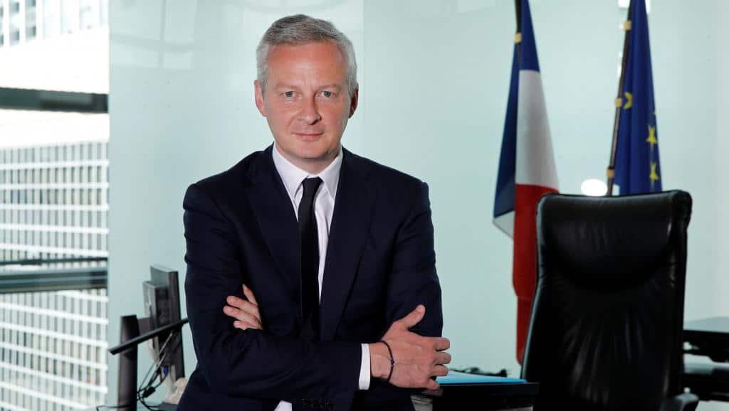 Banque Postale et Entrepreneurs - illustration Bruno Le Maire