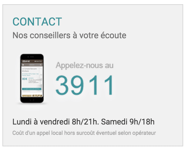 Numero telephone et contact BforBank