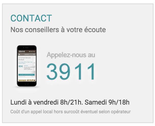 Numero telephone et contact BforBank
