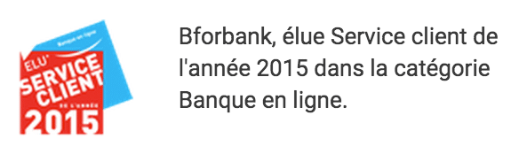 Service client BforBank