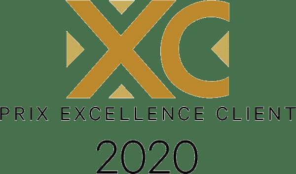 badge trophée excellence client 2020