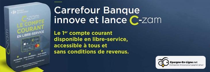 Compte C-Zam Bannière