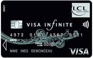 carte visa infinite lcl