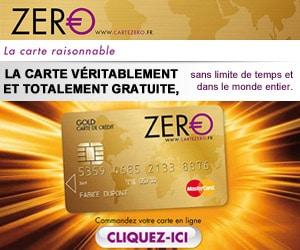 carte zero arnaque