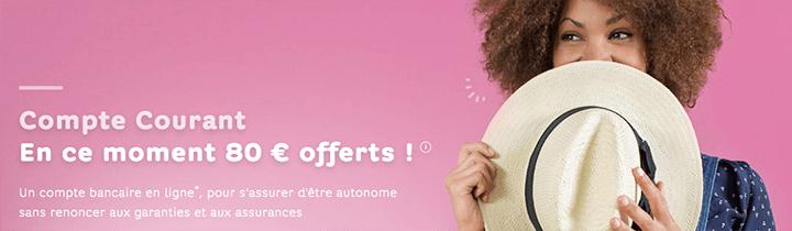offre 80€ Hello Bank