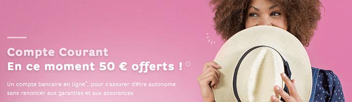 hello bank offre 50€