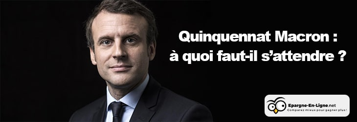 Quinquennat Macron - banniere