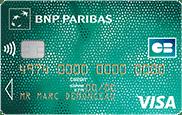 visa classic bnp